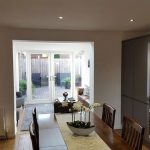 Living room lighting by Sheffield electrician